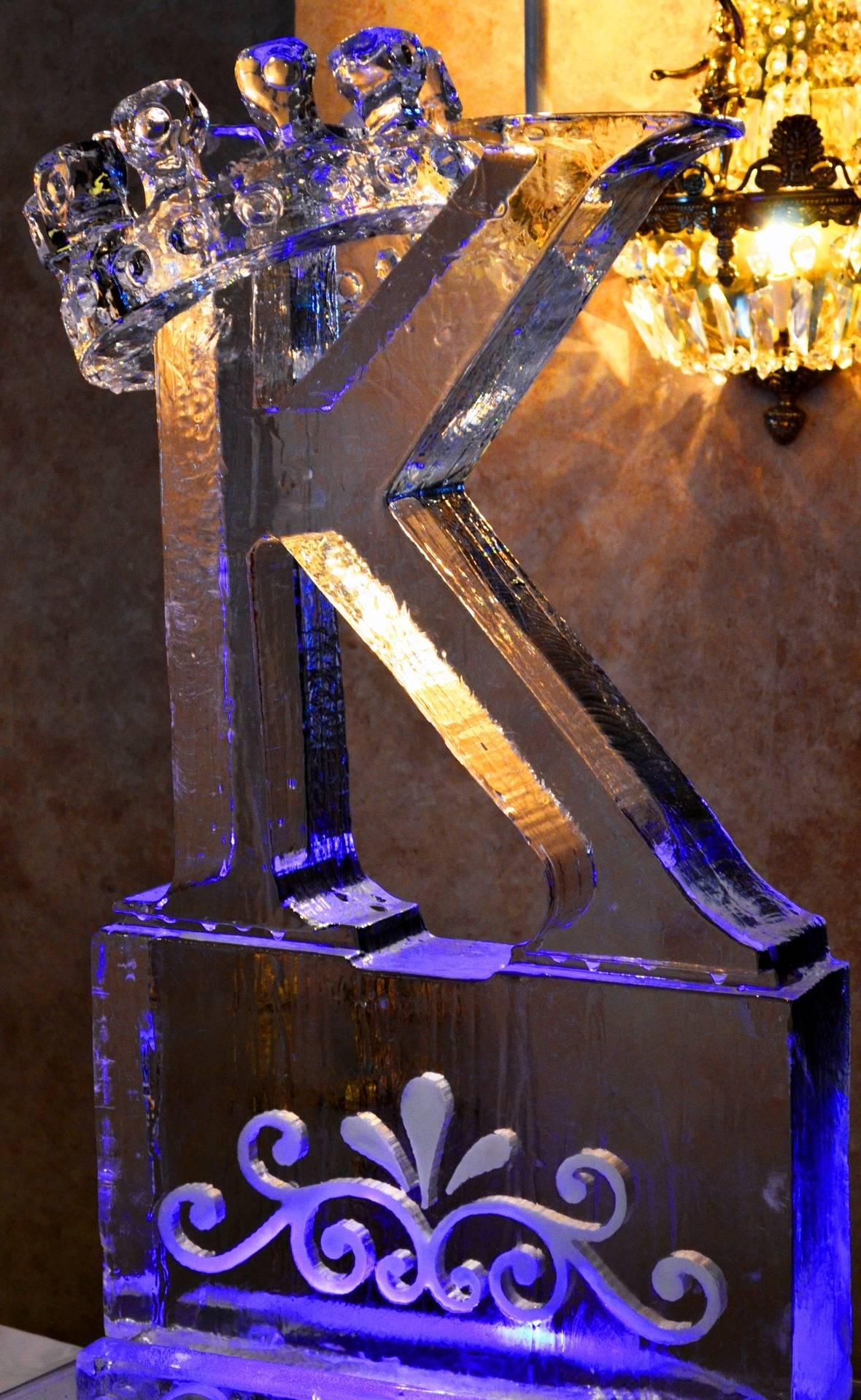 3D K with 3D Crown