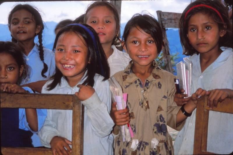 Khandbari Schoolchildren