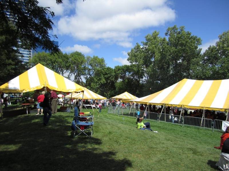 Beer Tent and Food Vendors