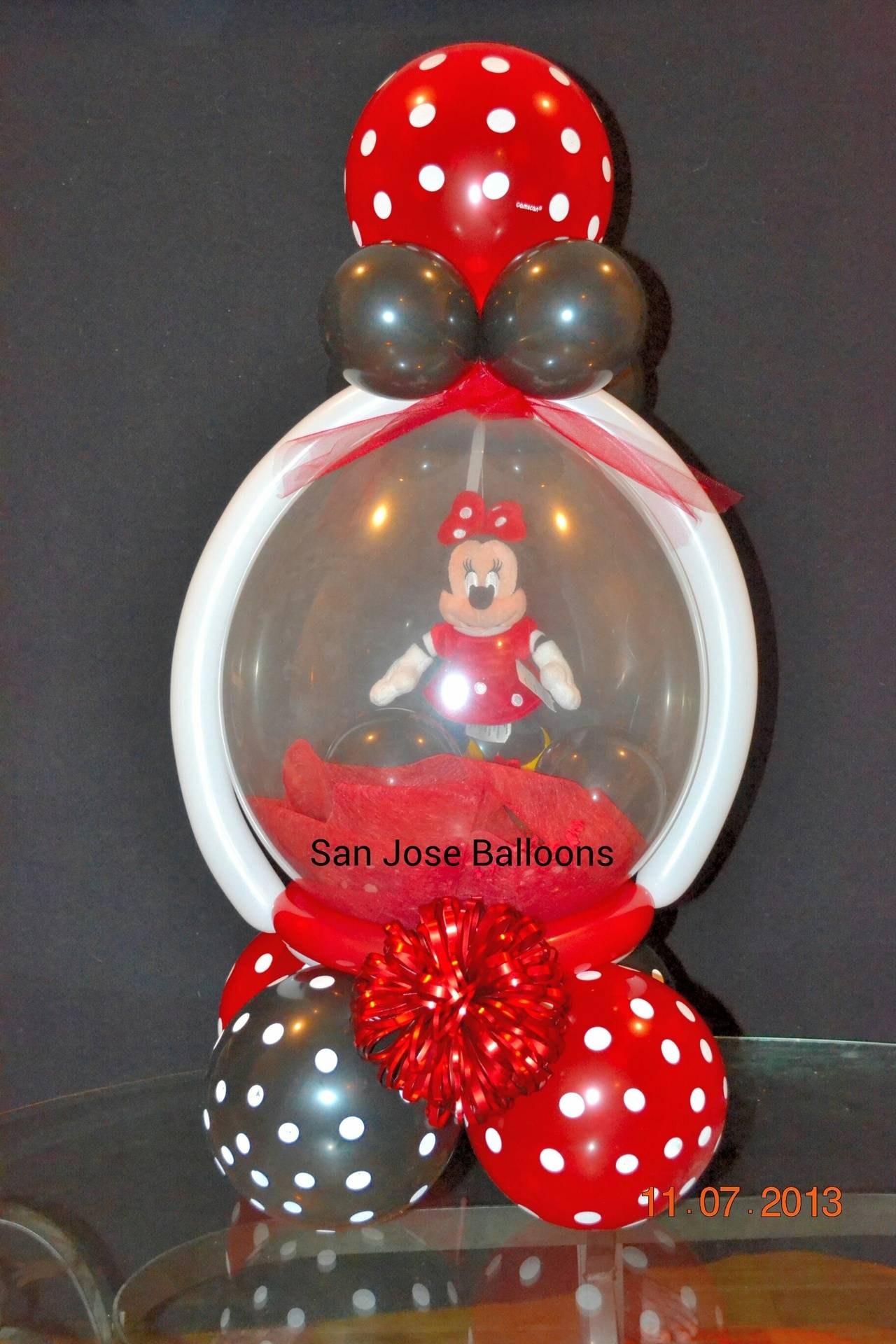 Basic Minnie Keepsake in a Balloon