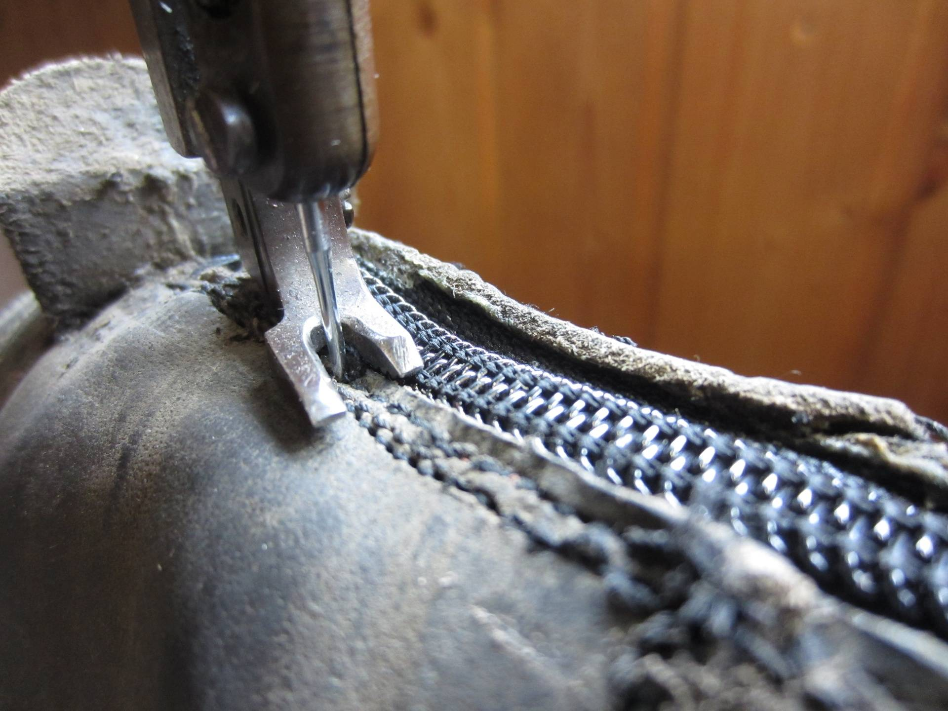 Best to double stitch this part