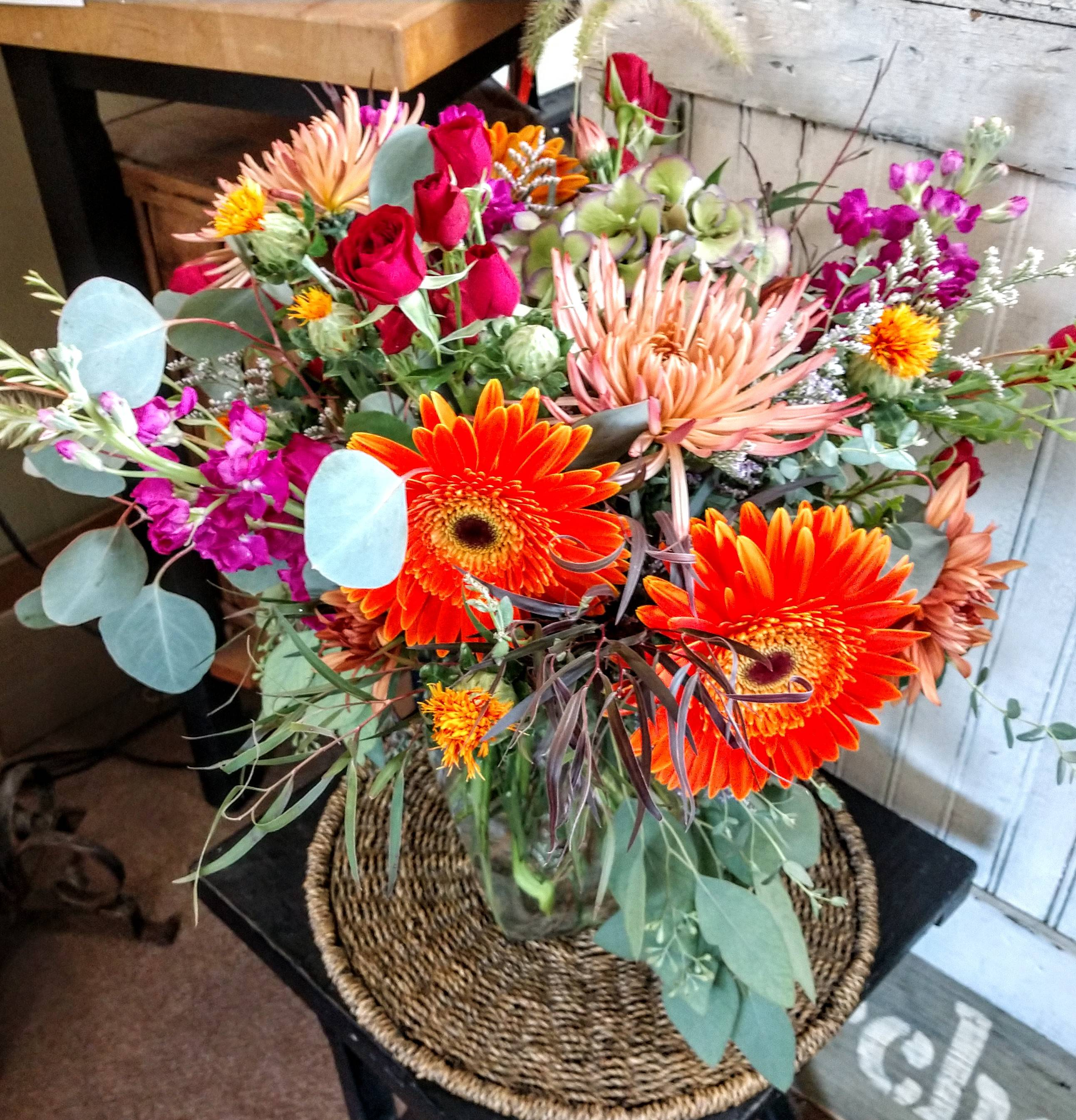 MIX with GERBERAS
