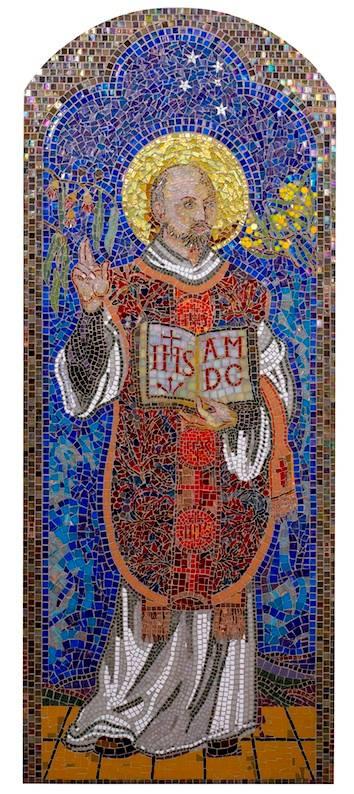 St Ignatius Mosaic