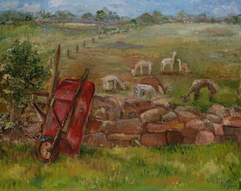 Red Wheelbarrow 1