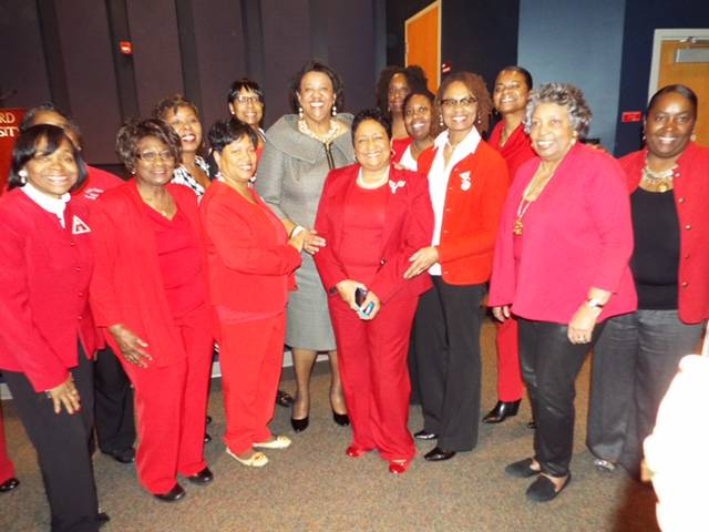 Past National President Cynthia Butler McIntyre Visits Area