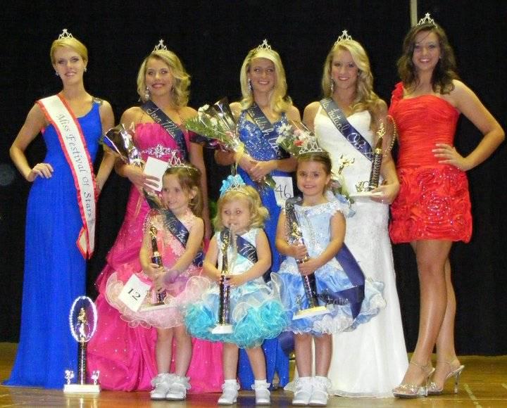 Beautiful pageant winners