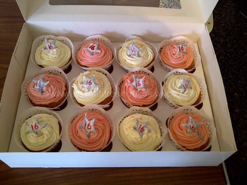 16th birthday cupcakes
