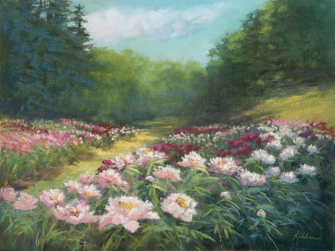 Full Bloom Peony Garden #1