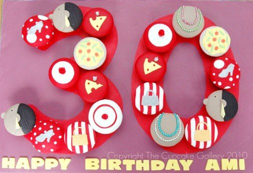 Another 30th Cupcake set