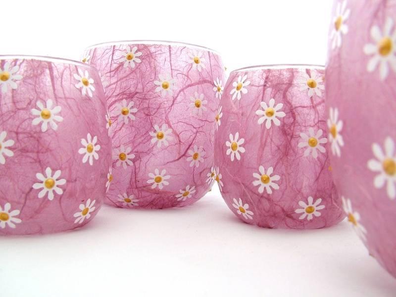 Rose Pink Daisies