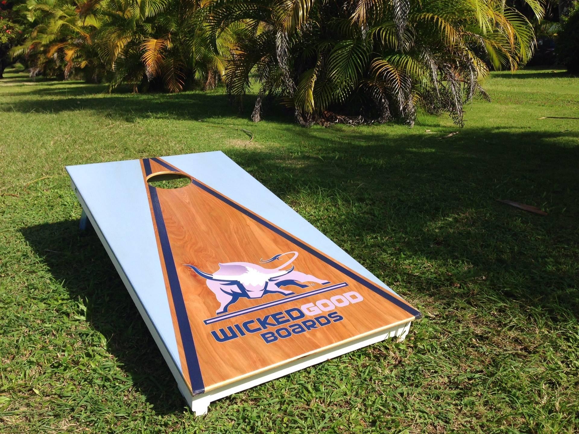 WickedGood Boards Cornhole Set