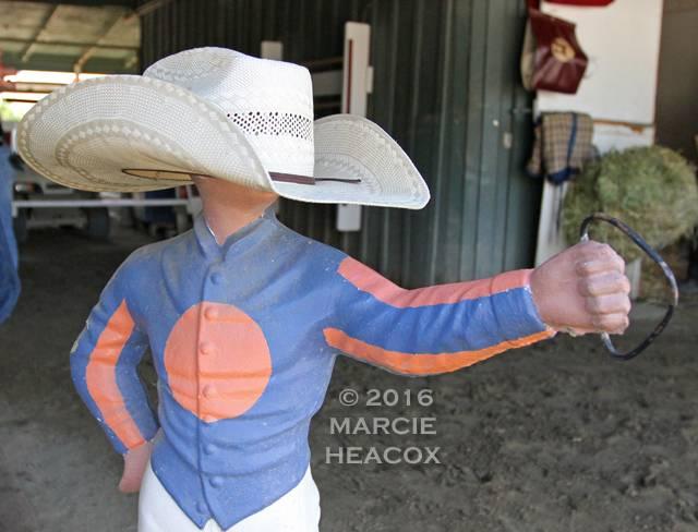 Jockey Statue Hat