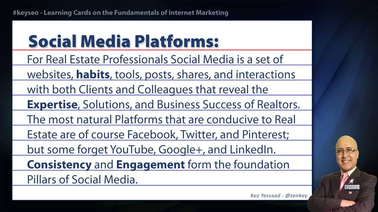 Social Media Platforms - Real Estate SEO Short Definition
