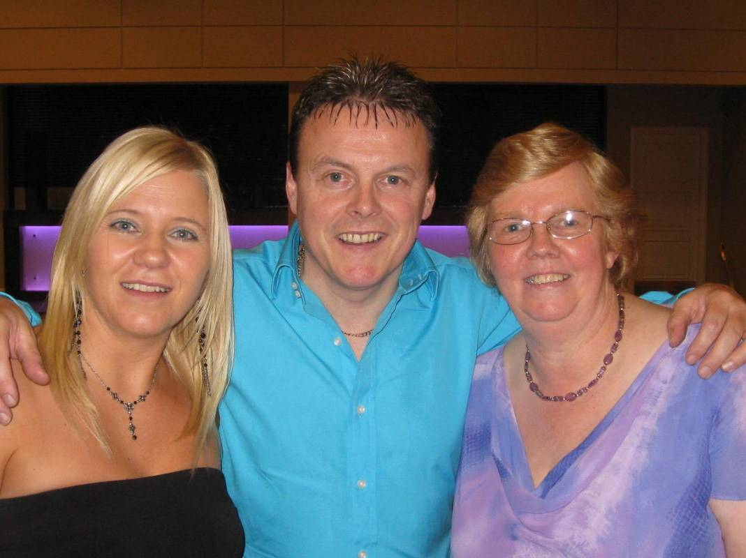FE, TM & Mrs Scanlon - Oct 2008
