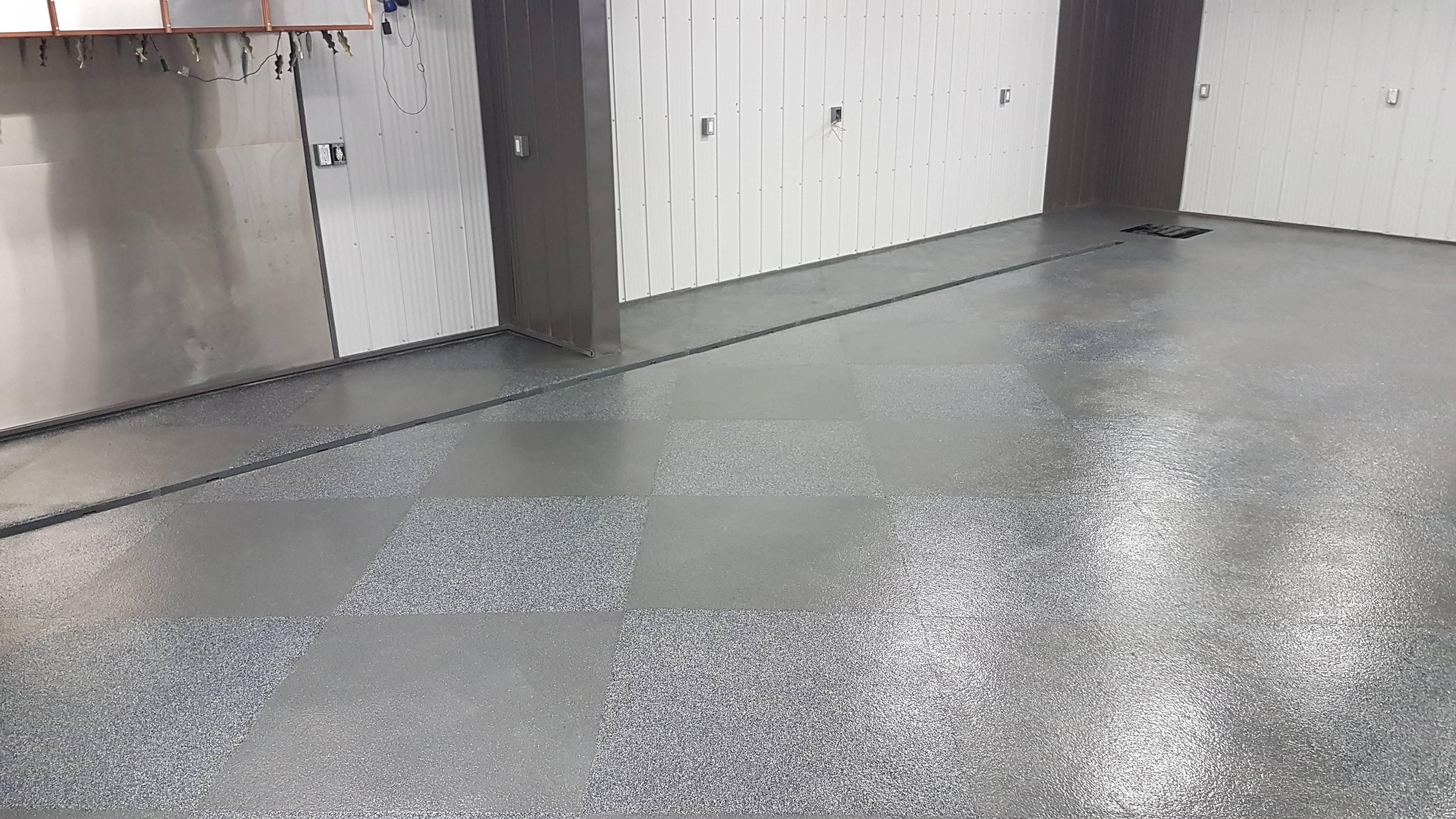 Flake System Floor Coating