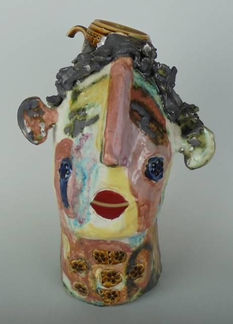 Mary Jones Ceramics.  A happy homely home.  SOLD   .