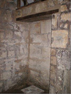 Interior of the prayer house.