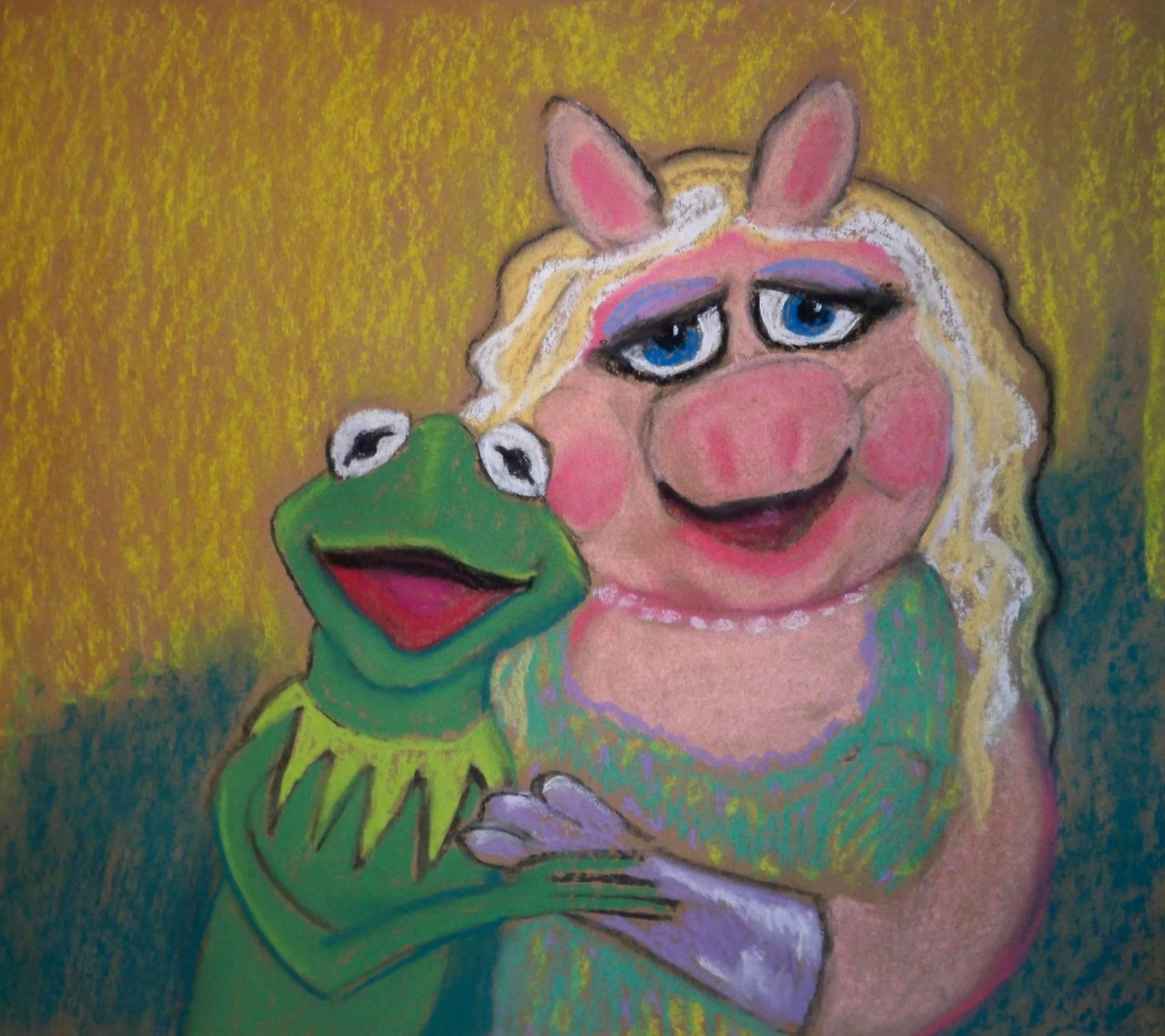 Kermit and Piggy