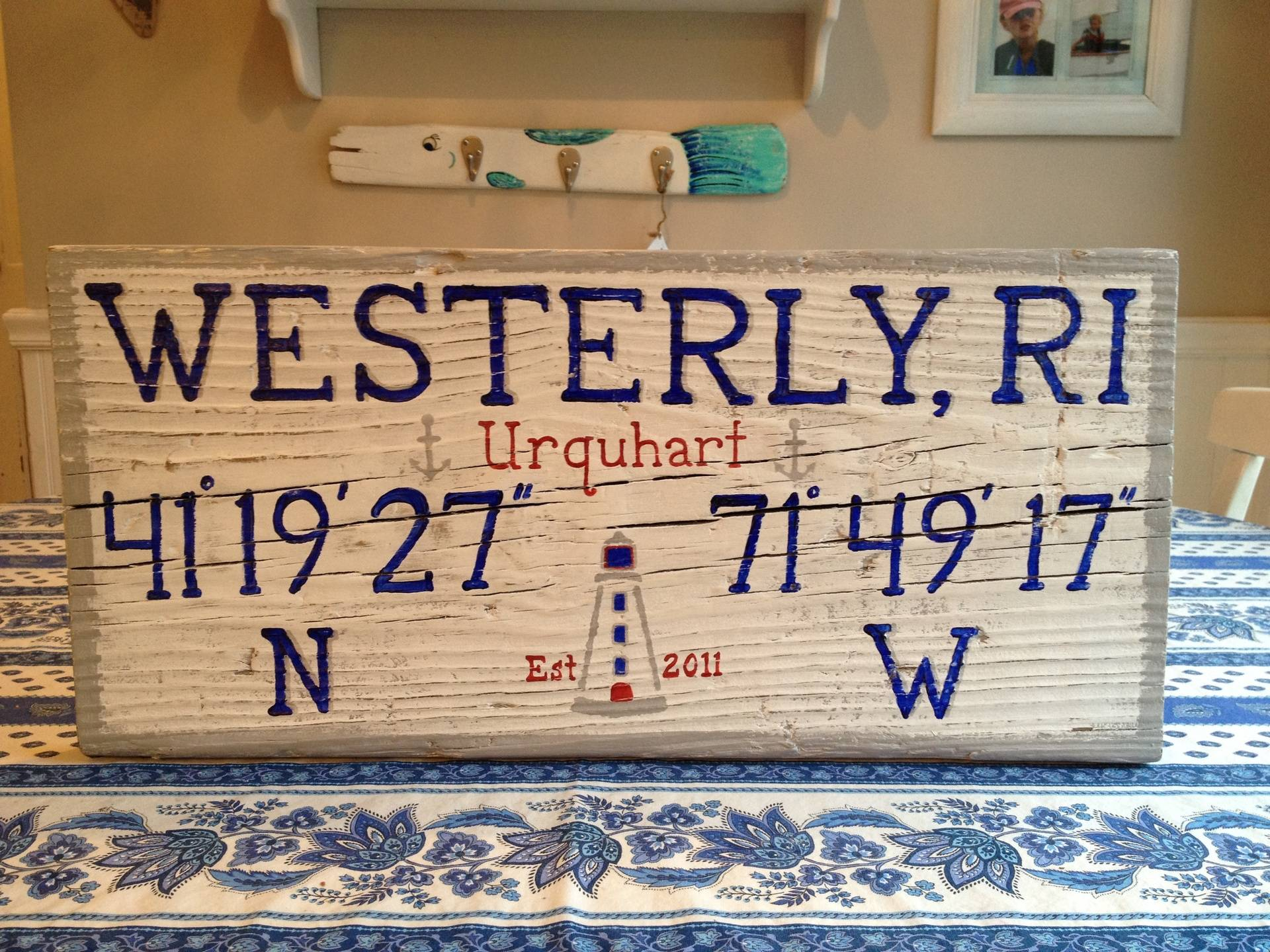 Westerly, RI sign