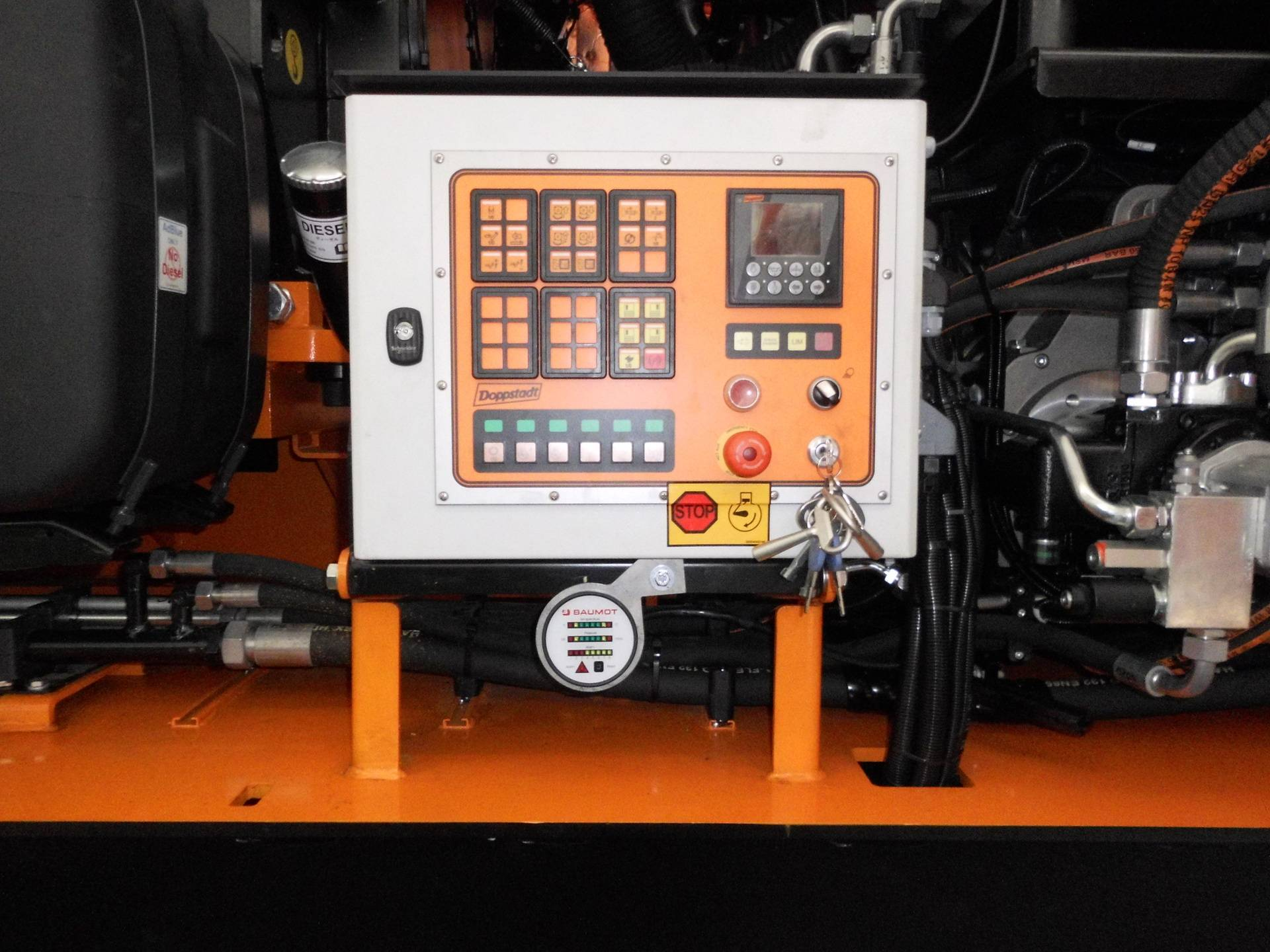 Doppstadt DW-3080K-3 Kontrolleinheit