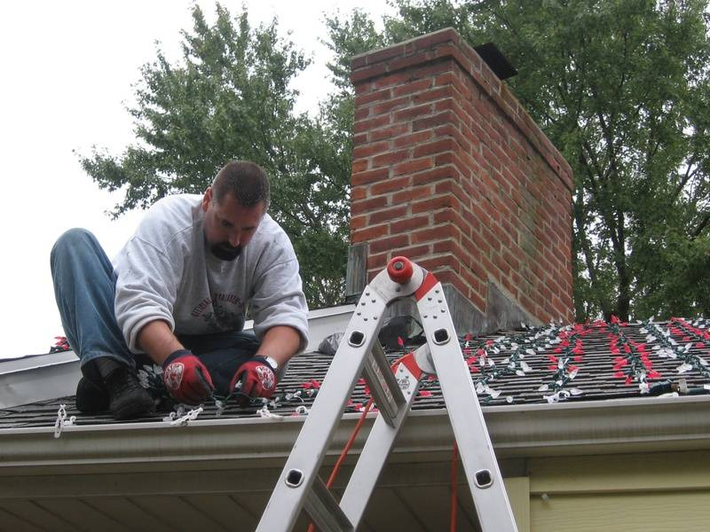 Roof Light Installation