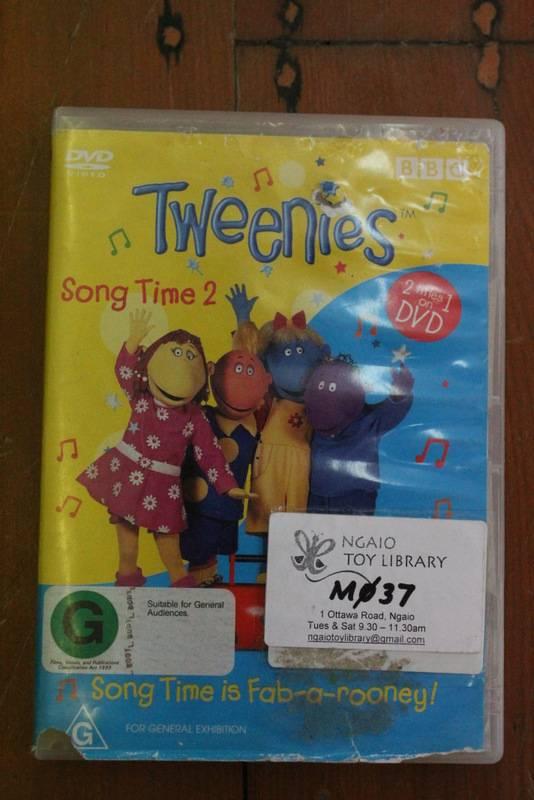 The Tweenies. Song time 2. DVD