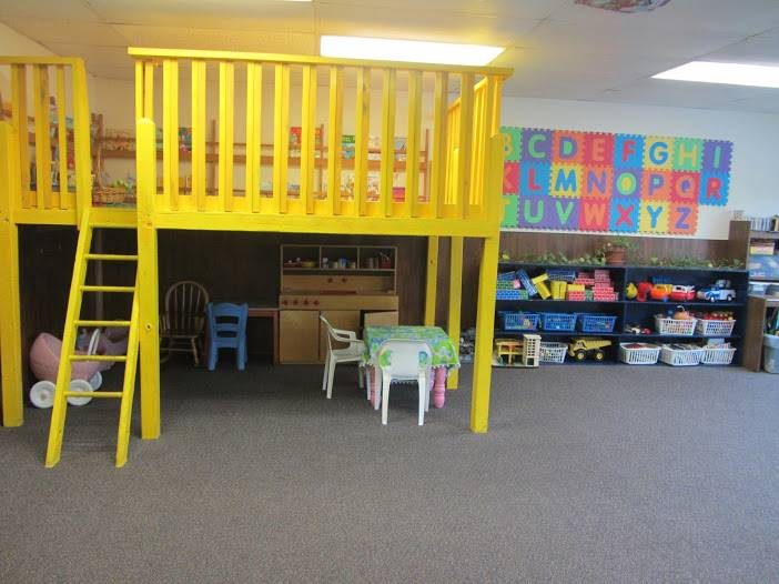 Reading Loft and Play Space