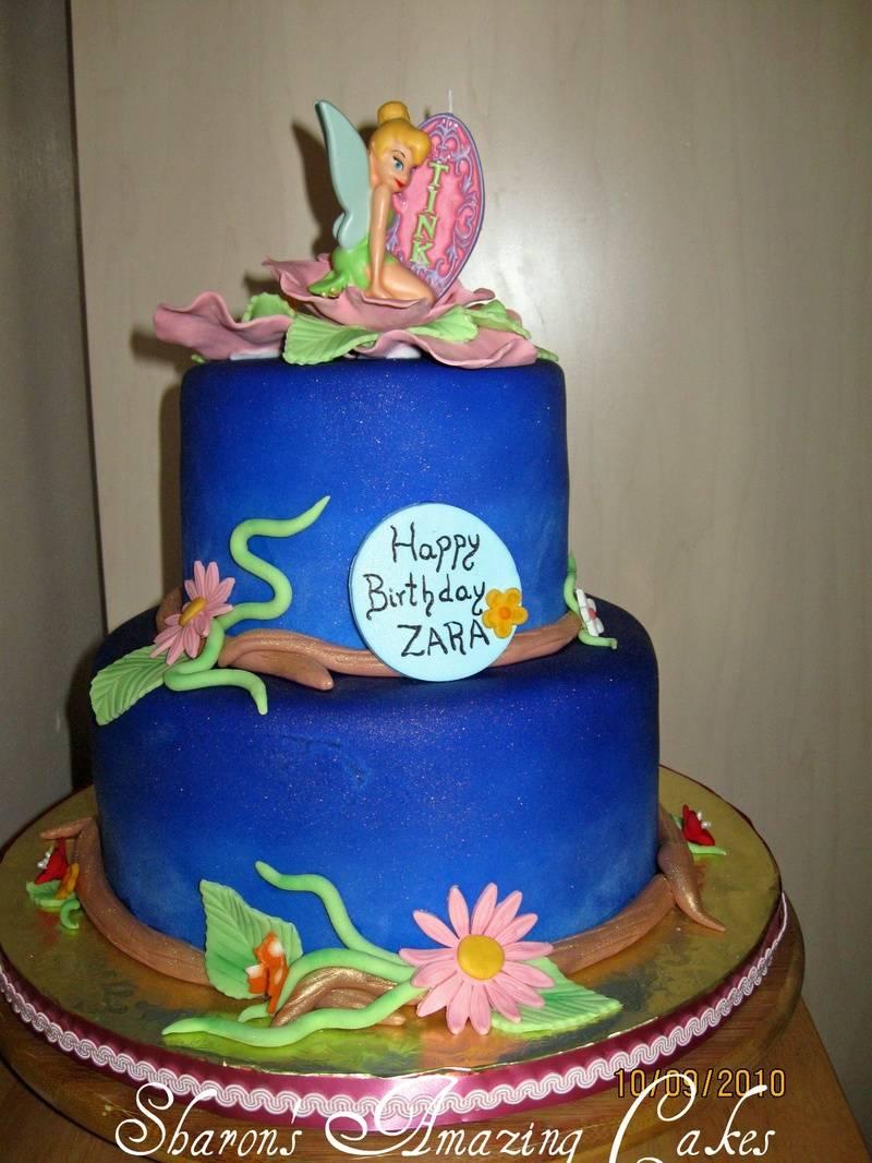CAKE 35A2- Tinkerbell 2 Cake