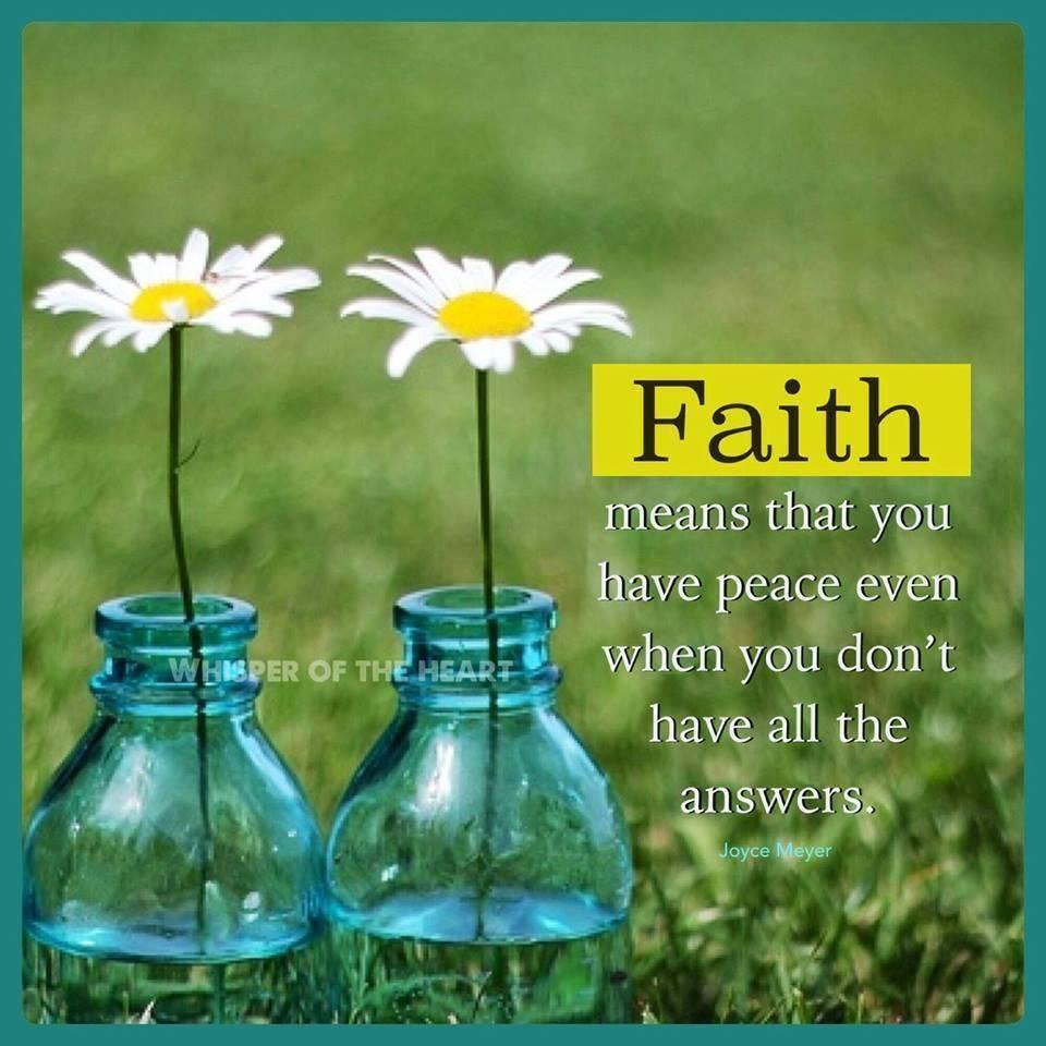 Flowering Faith