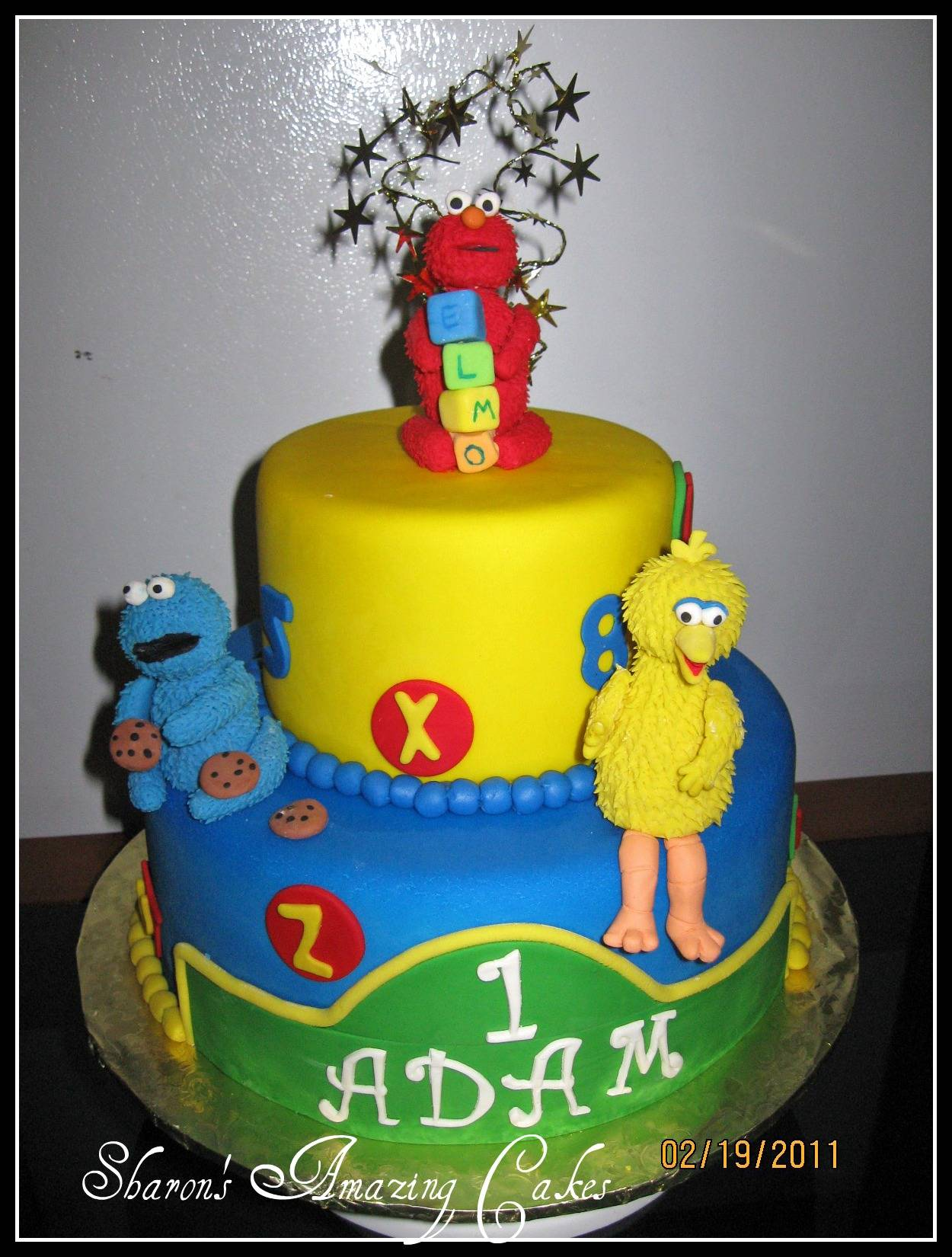 CAKE 23A1 -Sesame Street Cake