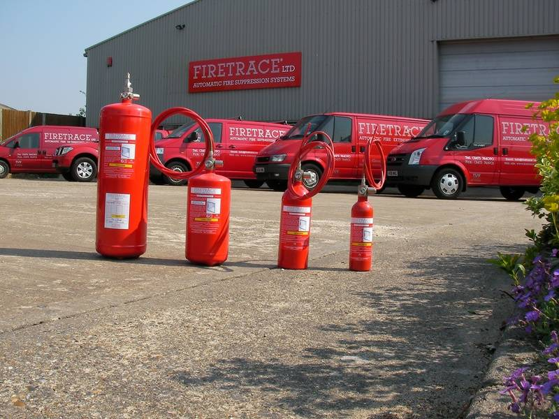 Firetrace Ltd, Unit 22 Knightsdale Road, Ipswich, Suffolk, IP1 4JJ, England