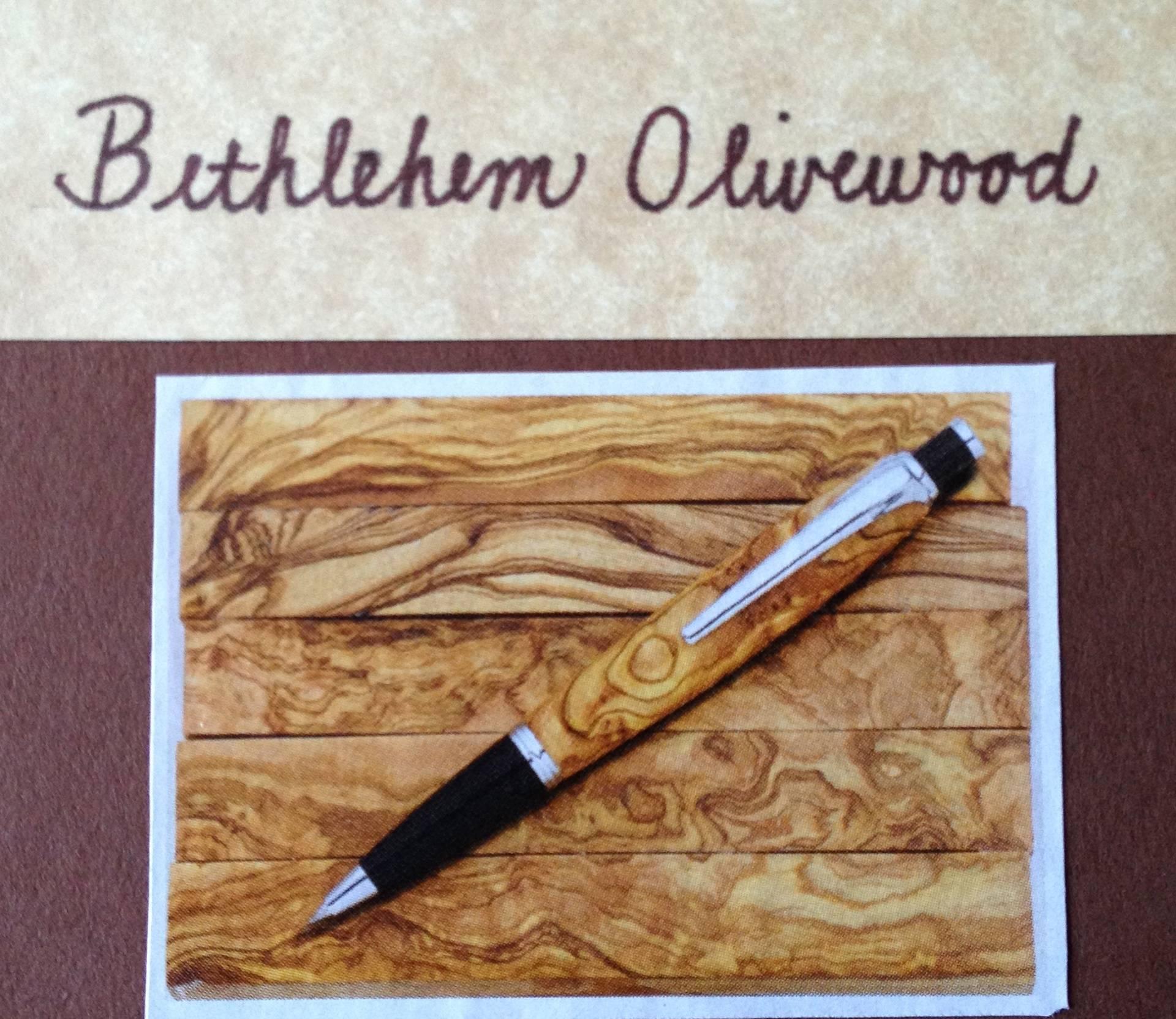 Wood - Bethlehem Olivewood