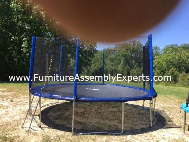 skywalker trampoline removal service vienna VA