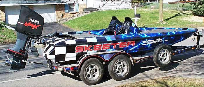 Skeeter  Boat Wrap