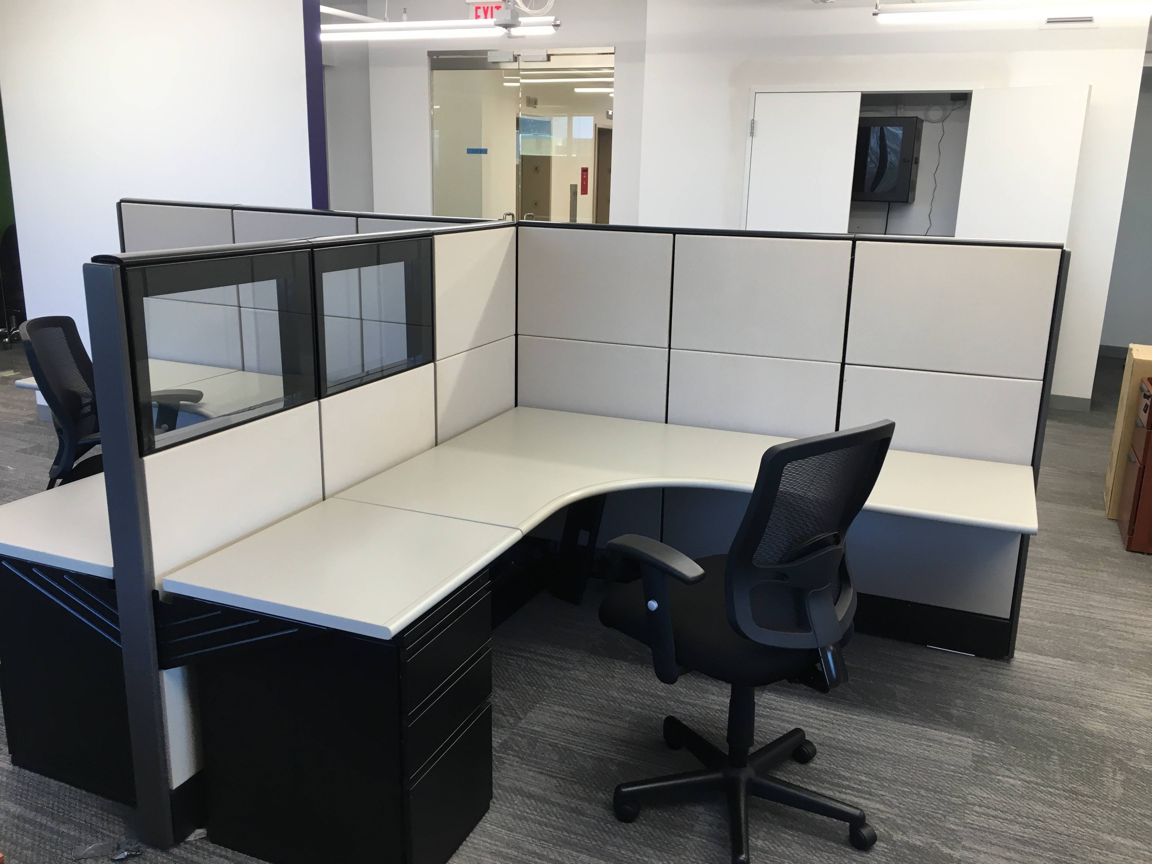 used office cubicle installation in tysons corner va