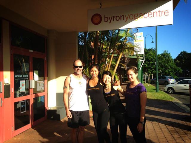 Byron Yoga Centre - Teacher graduates
