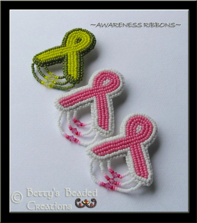 Awarness Brooches