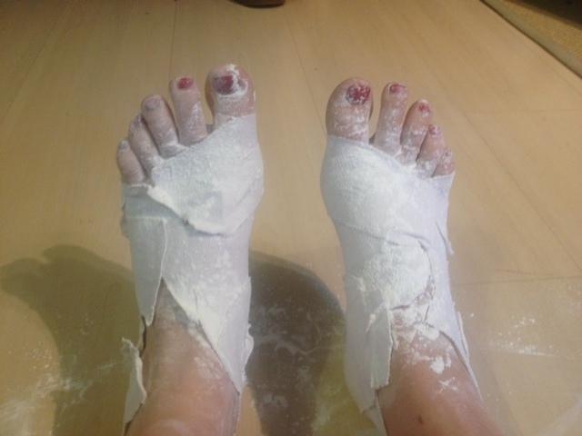 Best prepared feet!