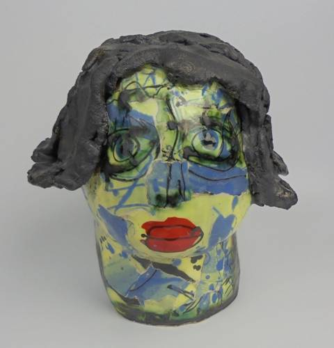 Mary Jones Ceramics . Peek a boo.  SOLD