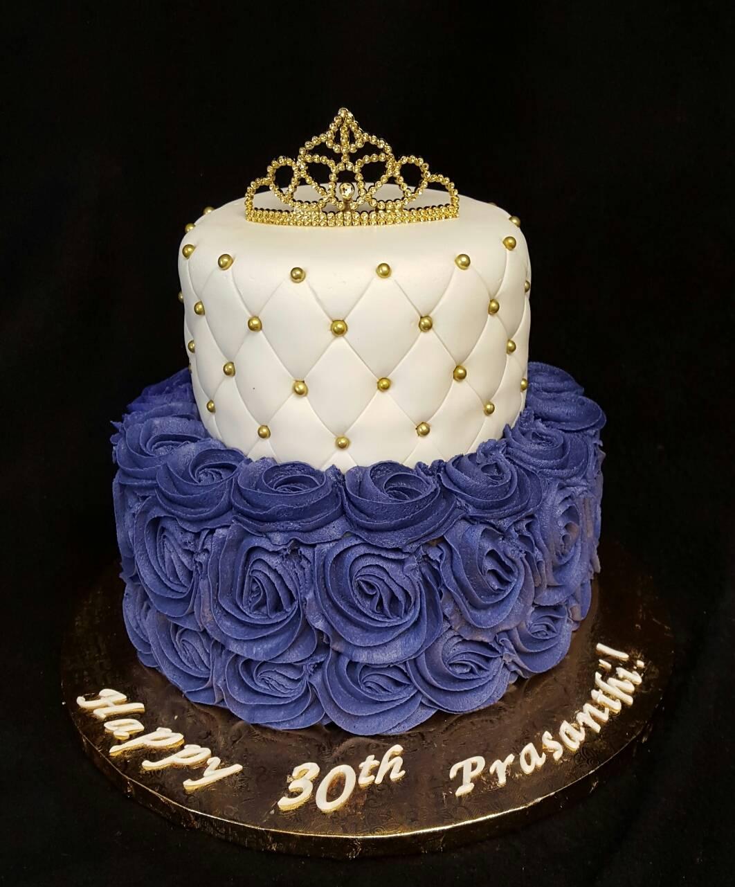 Purple and Gold Princess