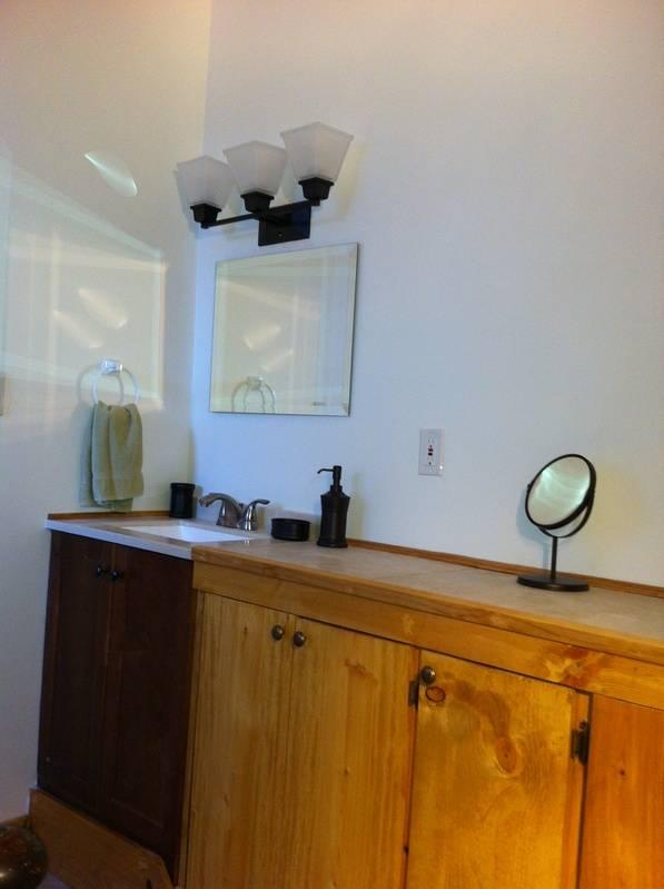 Vanity room off Master BR