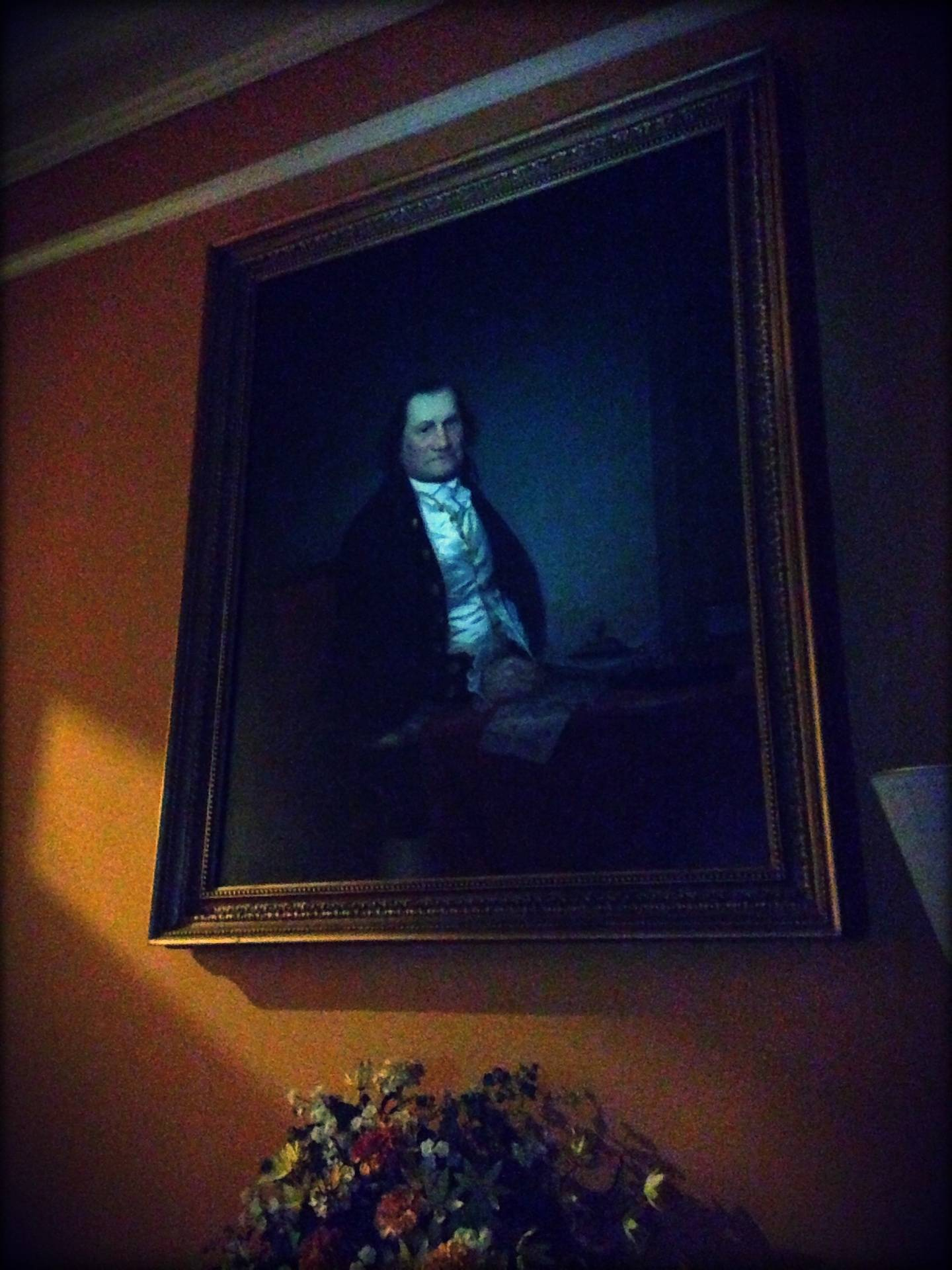 The man of the house: Abraham Ten Broeck