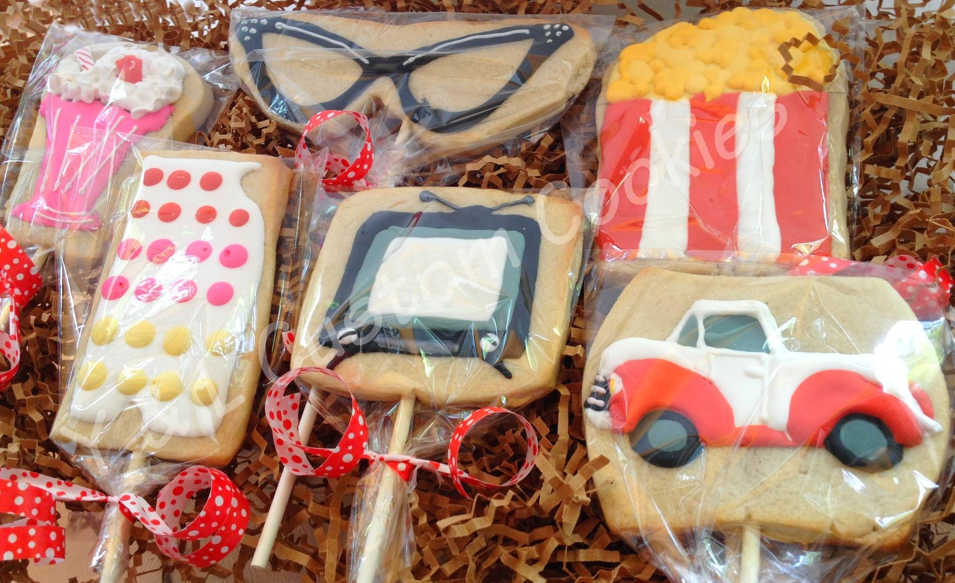 Retro (50's) Cookies