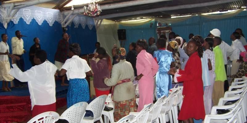 Congregation at Word Celebration Center