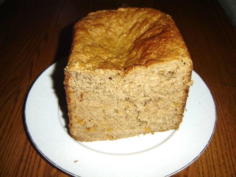 Peach Wheat Bread