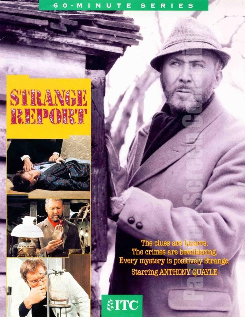 Strange Report - Anthony Quayle