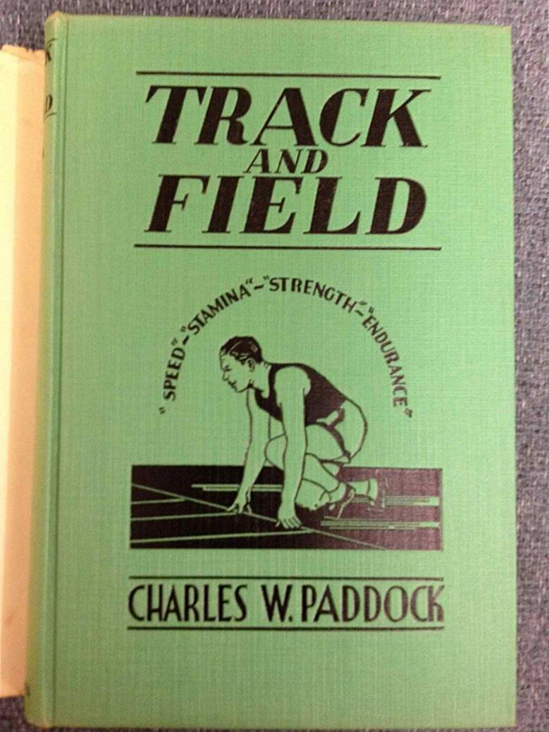 Track and Field book cover [1933]