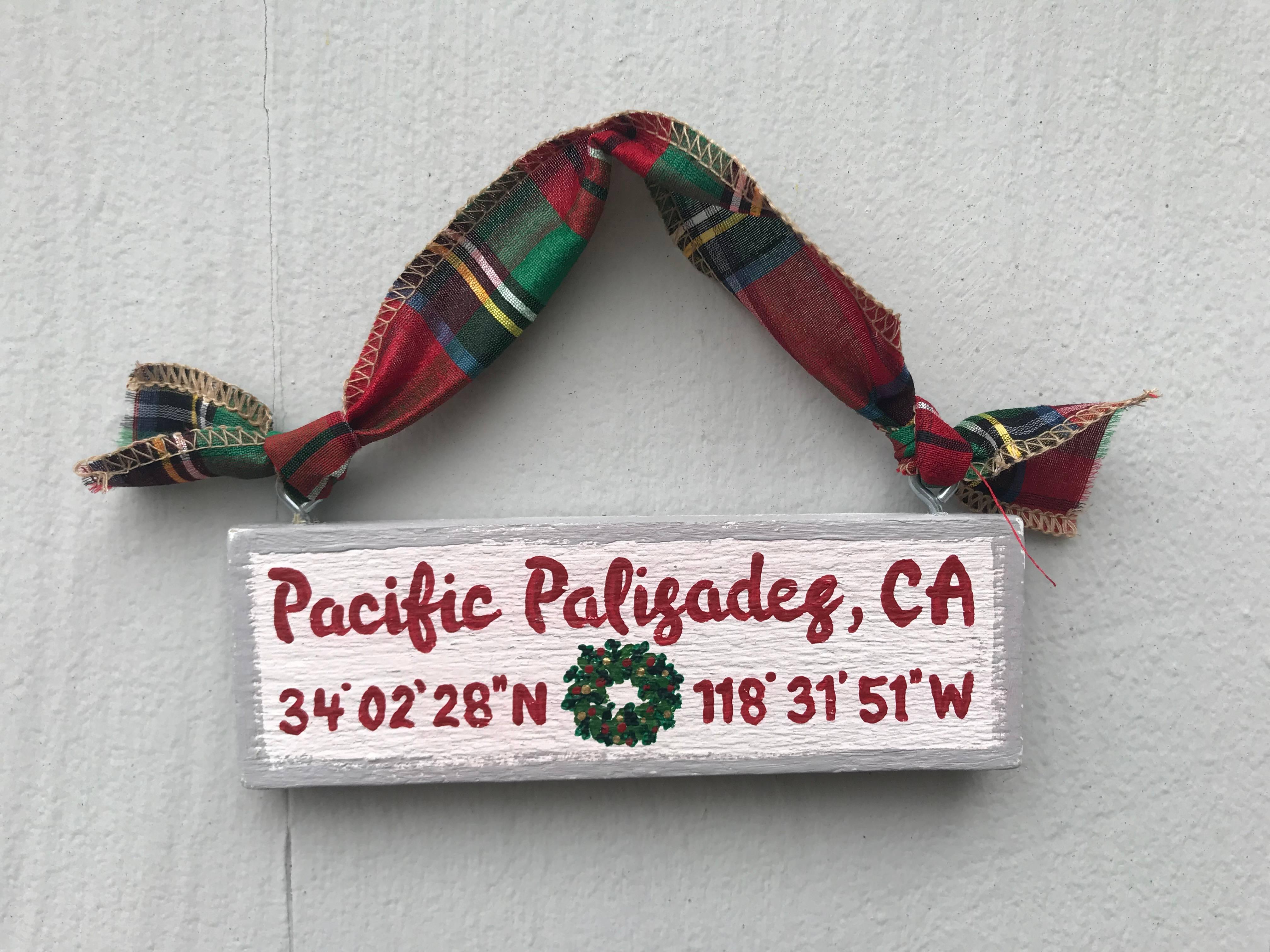 Town Pride ornament
