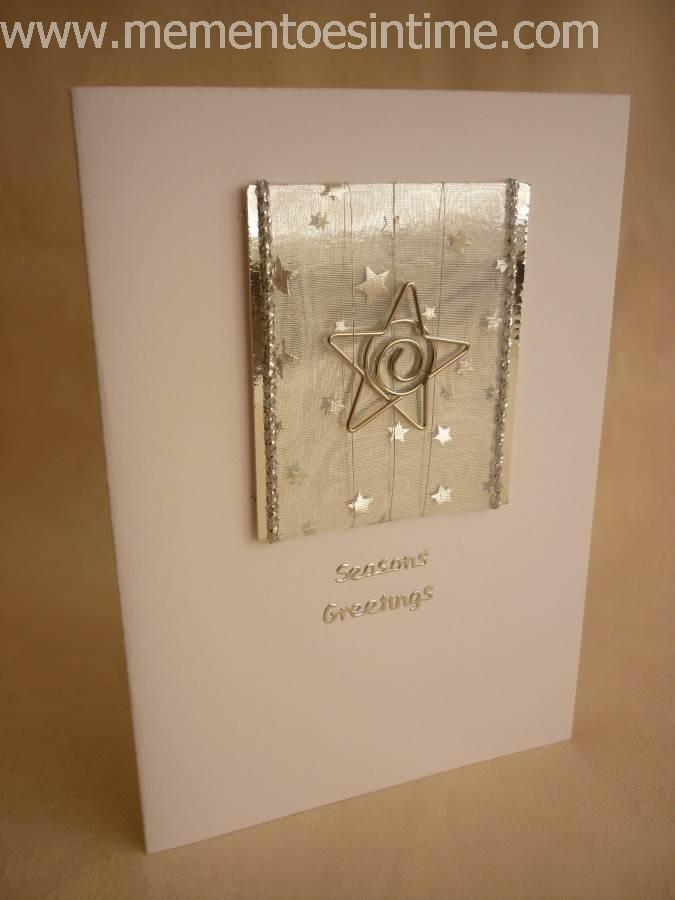 Silver Ribbon Star