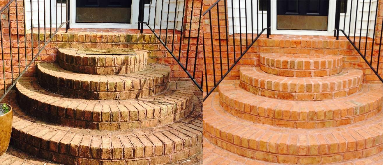 Fresh clean stairs